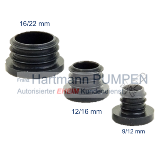 Eheim - Set closure plugs (7447150)