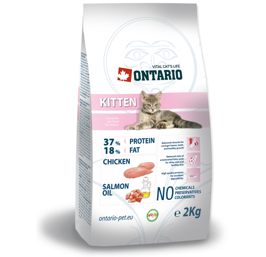Ontario Kitten - Food for kittens 2 kg