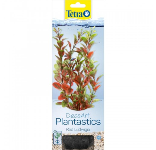Tetra DecoArt Plantastics Red Ludwigia M