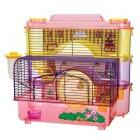 SMALL ANIMAL DOLL HOUSE 3-LEVEL HOME SAM363
