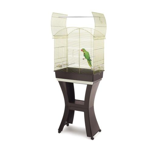 Клетка за папагали със стойка GABBIA ORO
