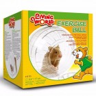 Living World Exercise Ball with Stand Medium