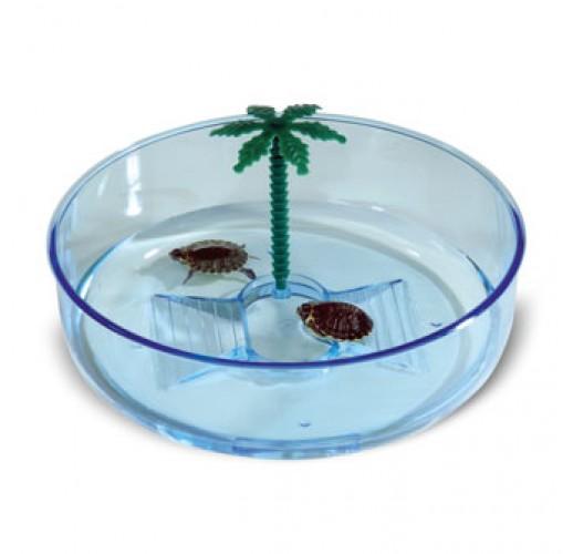 Decorative plastic turtle terrarium Imac Hydra 56299