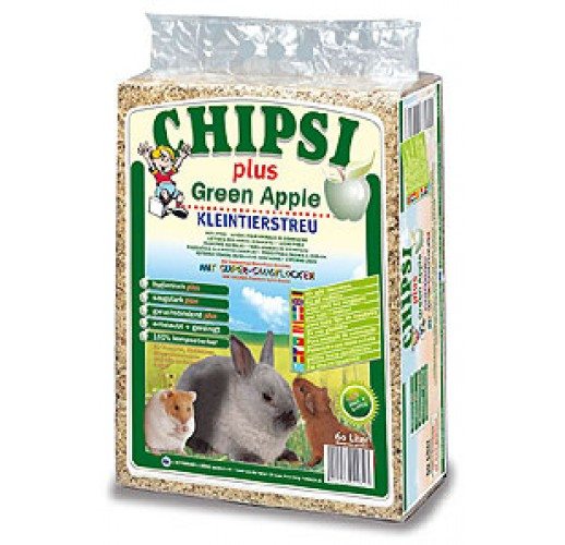 CHIPSI plus Green Apple 60L