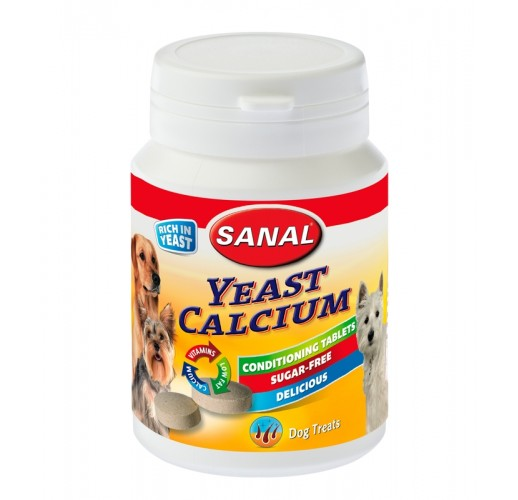Yeast Calcium for dogs Sanal 150 gr